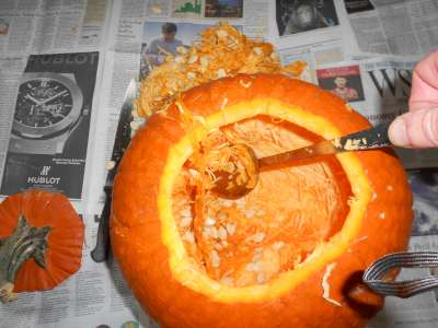 Inside the Pumpkin